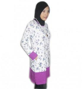 T-Shirt Muslimah Berpoket TM175