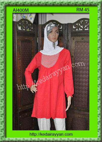 AI400M-T-Shirt Muslimah Aqeela