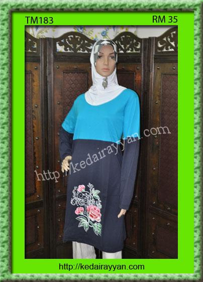 TM183-T-Shirt Muslimah