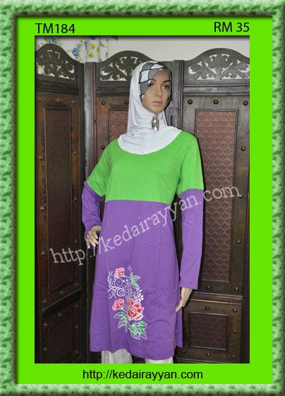 TM184-T-Shirt Muslimah