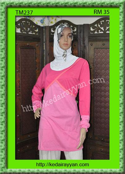 TM237-T-Shirt Muslimah