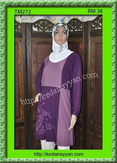 TM272a-T-Shirt Muslimah
