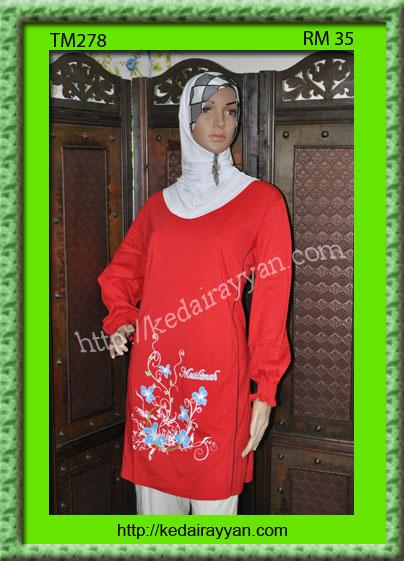 TM278-T-Shirt Muslimah