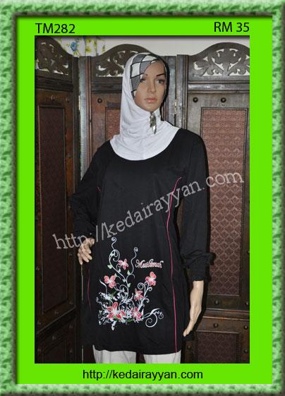 TM282-T-Shirt Muslimah