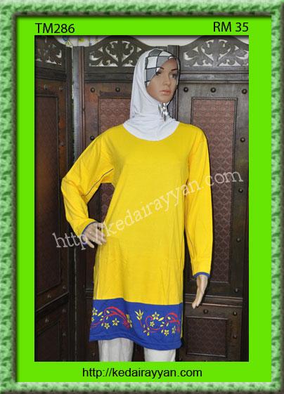 TM286-Tshirt Muslimah