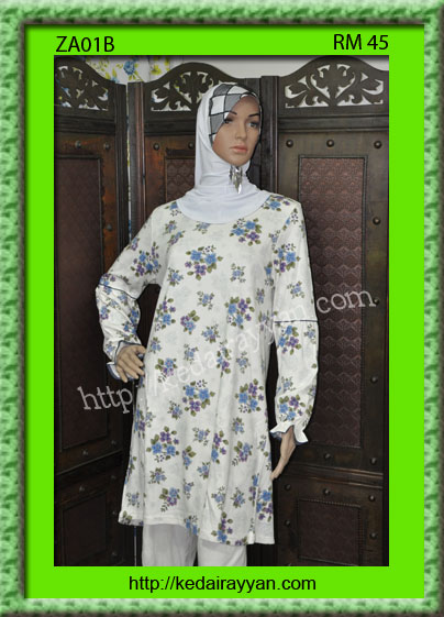 ZA01B-T-Shirt Muslimah Zariya