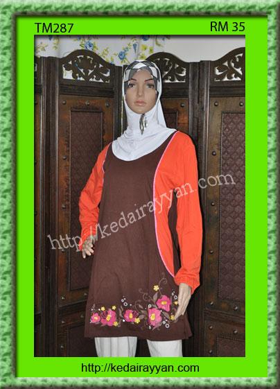 TM287-T-Shirt Muslimah
