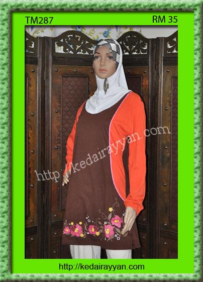 TM287a-T-Shirt Muslimah