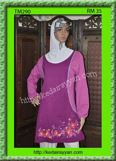 TM290a-T-Shirt Muslimah