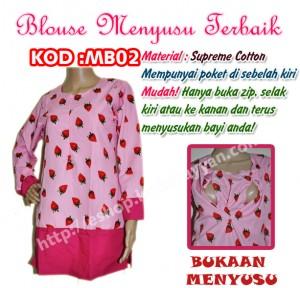 blouse menyusu mb02