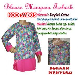 blouse menyusu mb05