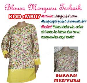 blouse menyusu mb07