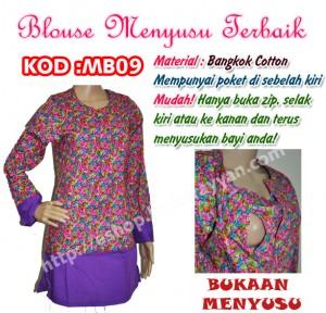 blouse menyusu mb09