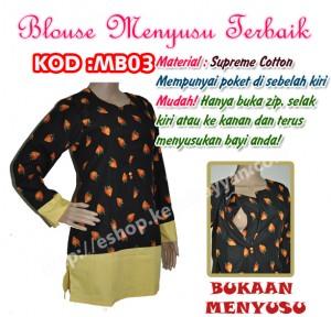 blouse menyusus mb03