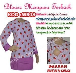 blouse menyusus mb08