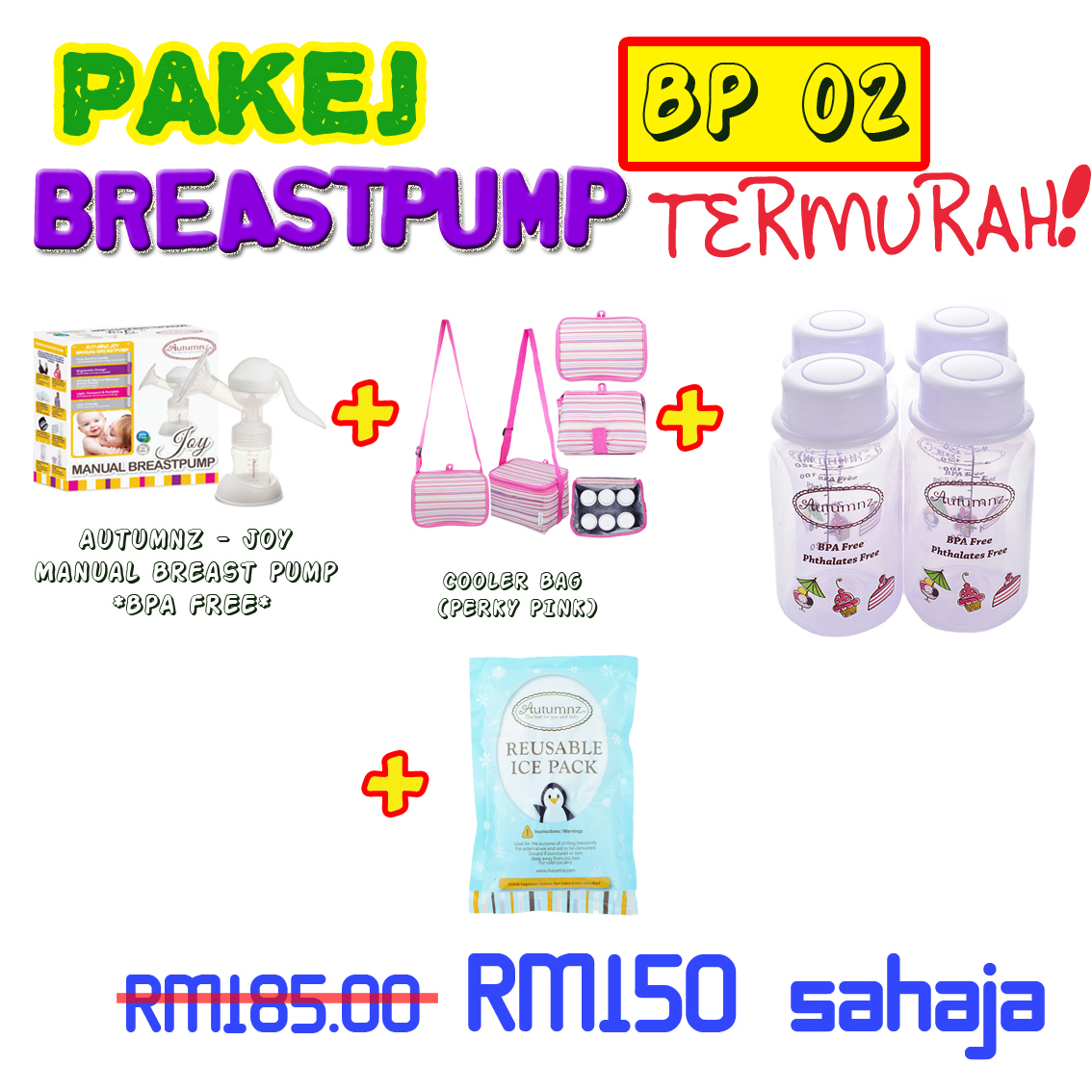 PAKEJ BREASTPUMP BP02