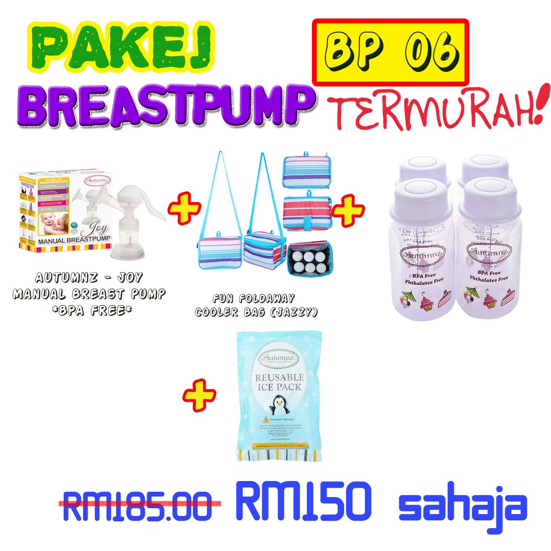 PAKEJ BREASTPUMP BP06